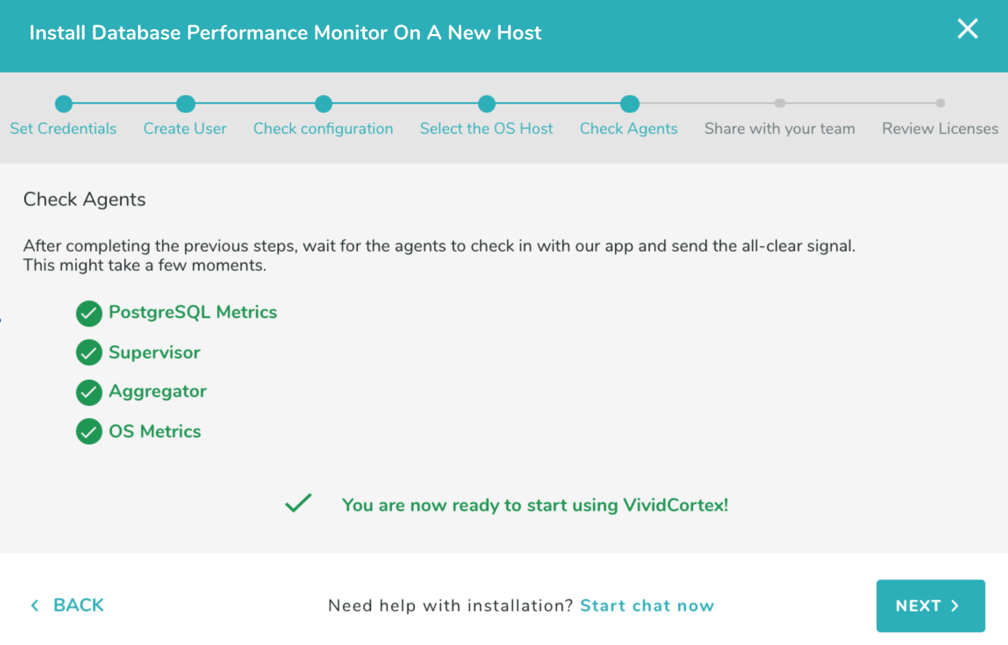 Off-Host Installation - VividCortex